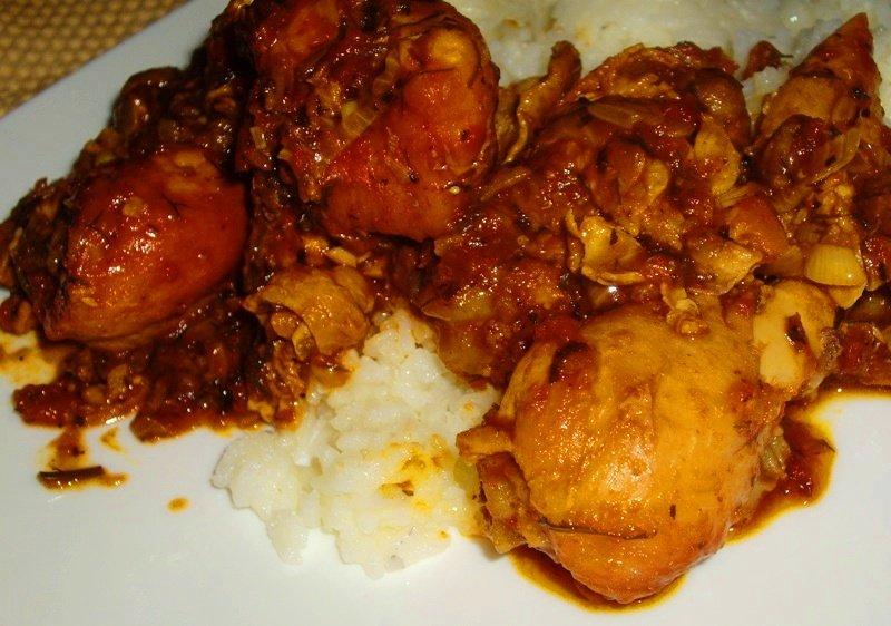 Фото к рецепту чахохбили из курицы