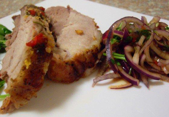 Рецепт запеченого свиного окорока